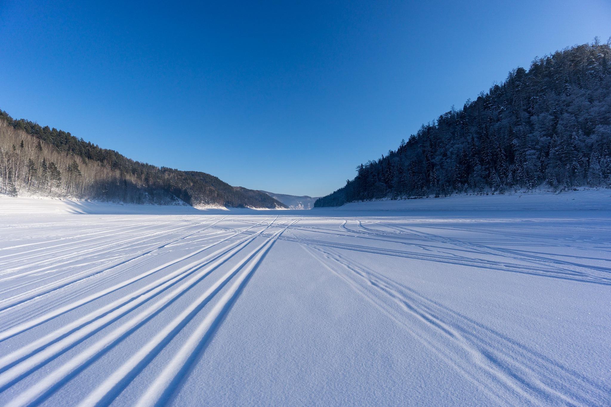 Залив Езагаш (зима 2018)
