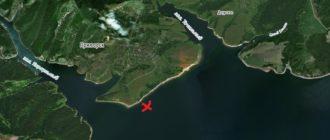 Надгробную плиту 1951 года вымыло на берег Красноярского моря в районе бывшей д.Караульная